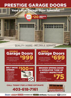 Affordable Garage Door Repair 20$