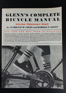 1979 Glenn's Complete Bicycle Manual Maintenance Repair Book