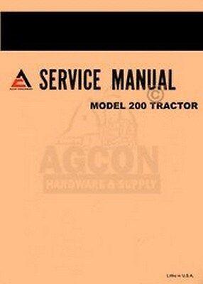 Allis Chalmers 200 Tractor Service Repair Manual