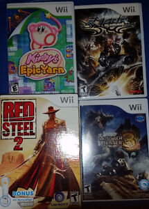 Various games for sale (wii)