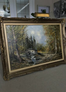 Original Oil Painting by Joseph Kugler sr.