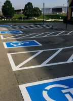 Line Striping, painting and Lot Marking