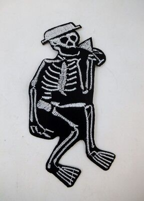 """Social Distortion 4"""" Iron On Embroidered Patch Speed Rockabilly GOTH Punk Metal"""
