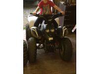 Aeon cobra 100cc quad