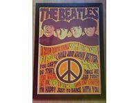 A2 The Beatles 'I'm Happy Just To Dance With You' framed top quality poster.