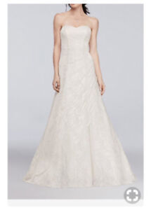 Davids Bridal All over Lace A-Line