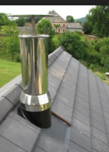 Recherche tuiles de cheminé en acier inoxydable