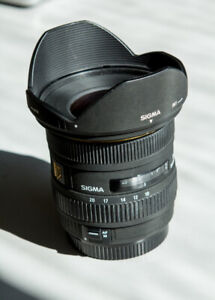 Sigma 10-20mm f/4-5.6 HSM Lens for Canon SALE