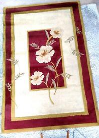 Floral Carpet Rug, Length: 234 cm x Width: 150 cm