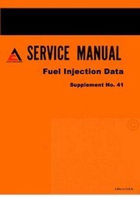 Allis Chalmers A C G F Hd3 Hd6 Hd11 Hd16 160 180 185 Injection Service Manual
