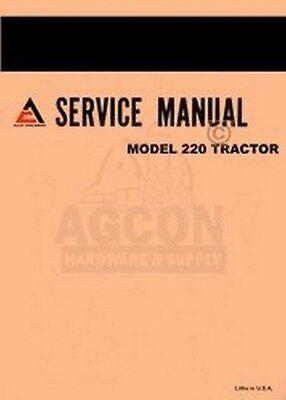 Allis Chalmers 220 Two Twenty Tractor Service Manual