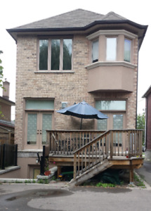 Yonge/Finch,  New House, Upstairs Room,  Short Stay $900/m