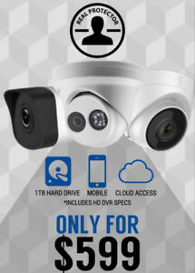 Security Camera & Installation for ONLY $600