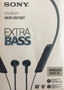 Sony MDR-XB70BT Wireless Bluetooth - TAXES INCLUDED!