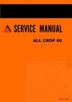 Allis Chalmers All Crop 60 Harvester Service Manual Ac