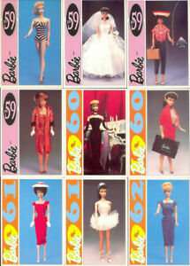 PANINI BARBIE 1991 ACTION SET 196 CARDS Missing #  191 NM-MINT.