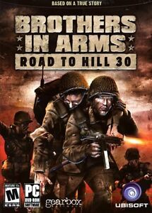 JEU GAME Brothers in Arms: Road to Hill 30 (DVD-Rom)