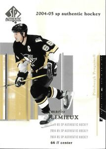 2004-05 SP Authentic *MARIO LEMIEUX*