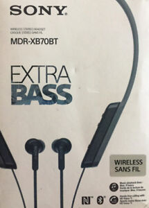 Sony MDR-XB70BT Wireless Bluetooth - TAXES INCLUDED!!!!!