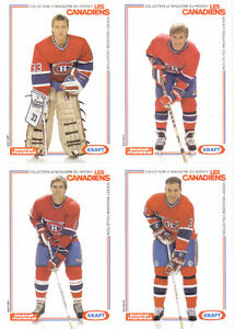 CARTES DE HOCKEY(COLLECTION CARTES POSTALES DU CANADIENS DE MTL)