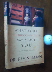 What Your Childhood Memories Say About You, Dr. Kevin Leman Kitchener / Waterloo Kitchener Area image 1