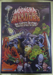 Moongha Invaders Board Game by Treefrog Games, Factory Sealed