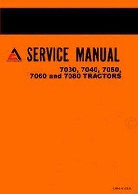 Allis Chalmers 7030 7040 7050 7060 7080 Tractor Repair Service Manual Ac