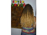 SUPER DREAD DREADLOCKS DREADS UK Professional Services - Love and Care - Natural + Affordable