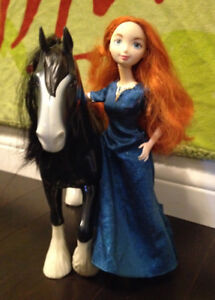 BRAVE MERIDA Blanket, Doll and Horse