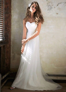 Must Go, Moving : Size 7 / 8 Wedding Dress from David's Bridal