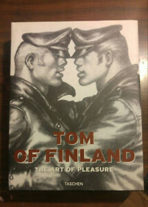 Tom of Finland Art Book 'The Art of Pleasure' NSFW