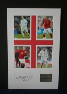 Wayne-Rooney-Manchester-united-England-autograph-signed-montage-AFTAL