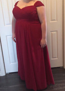 Beautiful Burgundy Dress St. John's Newfoundland image 1