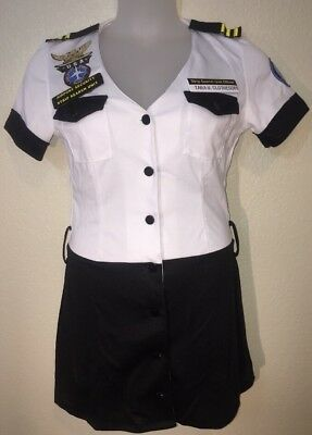 TSA Strip Search Unit Officer Uniform Tara U.Clothes Off Womens Costume M 6-10