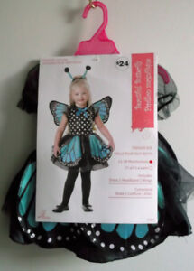 HALLOWEEN COSTUME ~ TEAL BUTTERFLY Size 12-18 months ~ NEW