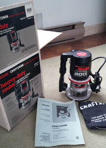 Craftsman router model 800