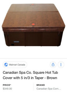 "BRAND NEW - 84""x84"" hot tub cover untouched in the original pack"