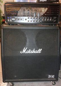Bugera 333 Amp Head & Marshall MC412A Half-Stack - Combo