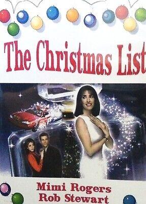 THE CHRISTMAS LIST 1997 UNCUT Christmas Movie 86 Minutes Mimi Rogers Rob Stewart ()