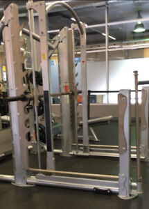 Smith Machine Gym Commercial