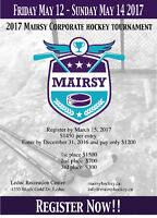 2017 MAIRSY CORPORATE HOCKEY TOURNAMENT