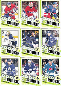2012-13 O-PEE-CHEE COMPLETE SET 1-600