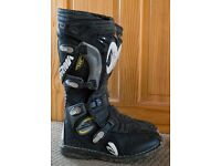 Forma Motor Cycle Boots Size 10 - 10 1/2