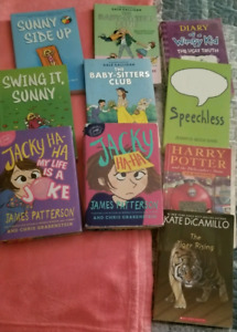 10 Books- ages 9-12