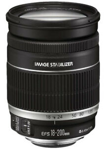 Canon EF-S 18-200mm f/3.5-5.6 IS Standard Zoom Lens for Canon DS