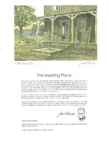 The Meeting Place Six Art Cards (WI INVELOPE) By James Lumbers g