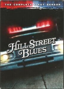 Hill Street Blues Complete First 1st Season3 Disc DVD coffret