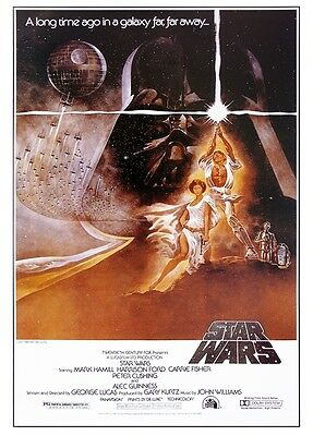 Star Wars Poster Style 'A' - American