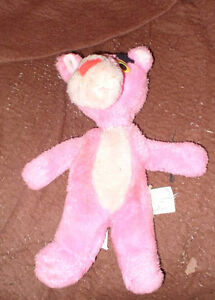 1964.10 inch plush pink Panther doll