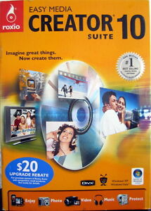 Roxio Easy Media CREATOR SUITE 10 *DEAL*